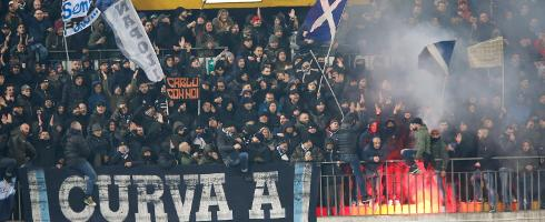 Napoli fans banned to watch their game against Inter in Coppa Italia semi-final