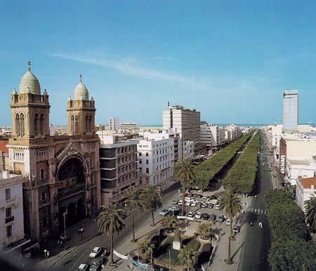 Túnis, Capital da Tunísia