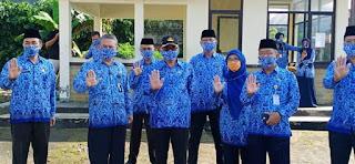 Relawan ASN Kab. Sukabumi Disebar, Bupati Sukabumi Minta ASN Harus Jadi Panutan