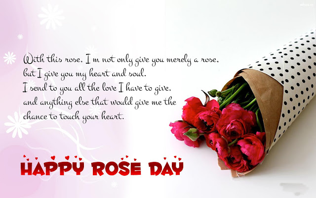 happy rose day images with quote
