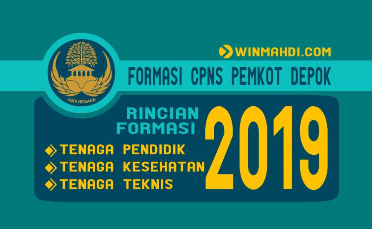 Formasi CPNS Pemkot Depok Tahun 2019