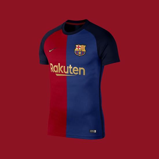 Nike Fc Barcelona 20 21 Home Away Third Retro Concept Kits By Lumo723 Footy Headlines