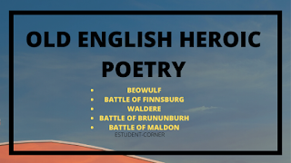 Old English Heroic poetry , wiki , Examples | Old English Literature notes