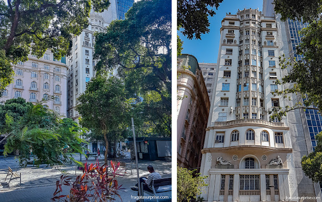 Rio de Janeiro, arquitetura na Cinelândia