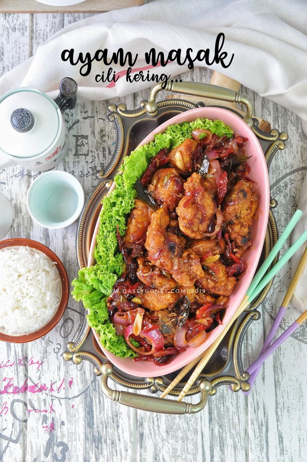 Ayam Masak Cili Kering Ala2 Cina Muslim Sedap Dan Mudah