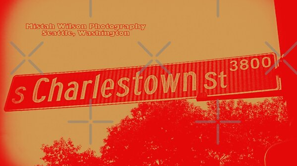 Charlestown Street, Seattle, Washington by Mistah Wilson