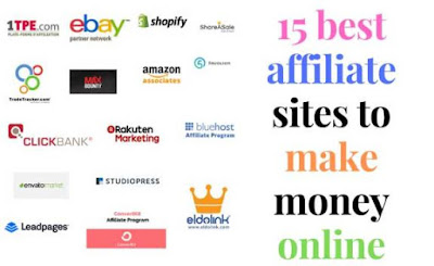 15 best affiliate sites to make money online