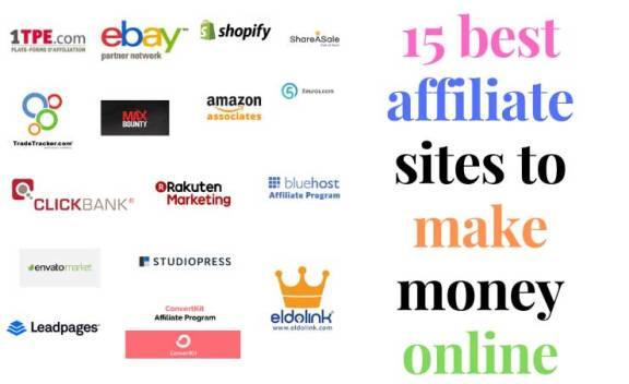 15 best affiliate sites to make money online