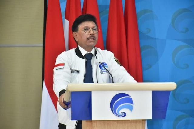 Menkominfo : Tidak Ada Gangguan Layanan Komunikasi Saat Jatuhnya Sriwijaya Air
