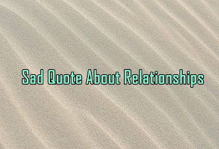 Sad Quote About Relationships in Hindi