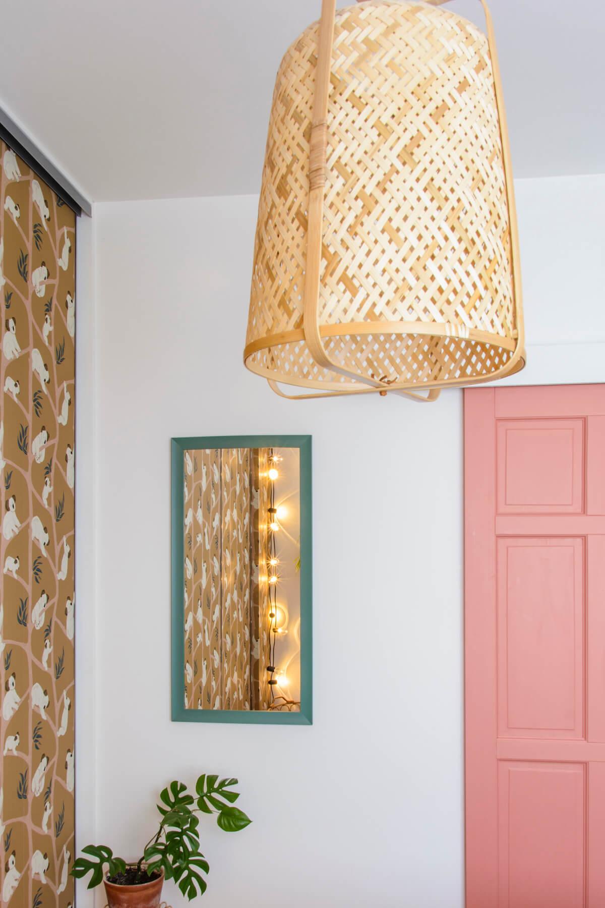 lampa rattanowa