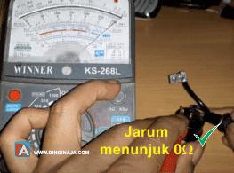 Cara Cek Overload AC dengan multimeter