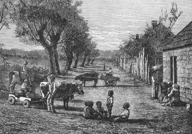 It's About Time: 19C Dwellings of American Slaves before ... Cotton Plantations 1800s