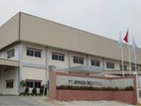 Lowongan Kerja SMK Operator Produksi Bekasi PT. Miwada Industrial Terbaru