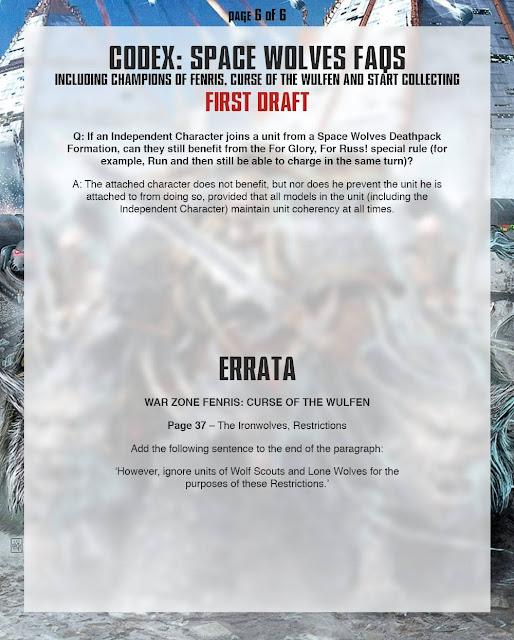 FAQ Warhammer 40.000