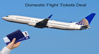 The Best Way of Domestic Flight Tickets Booking