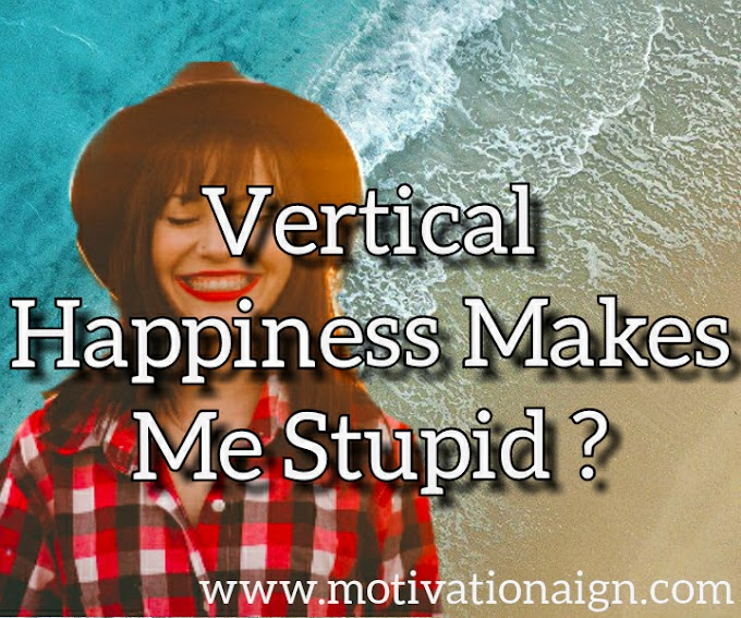 Virtual Happiness makes Me Stupid