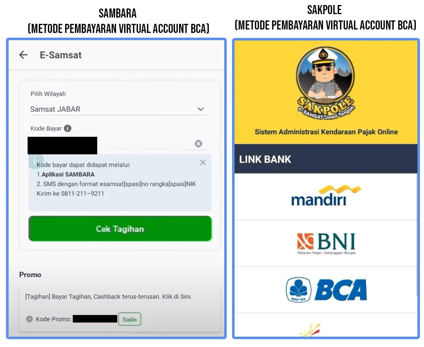 Cara Bayar Pajak Motor Lewat Mobile Banking BCA