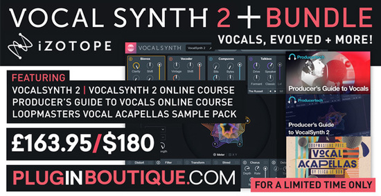 orange vocoder promotion alternative bundles