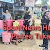 Sasar Penjual Jagung Panaikang, Satuan Sabhara Polres Takalar Terapkan Prokes