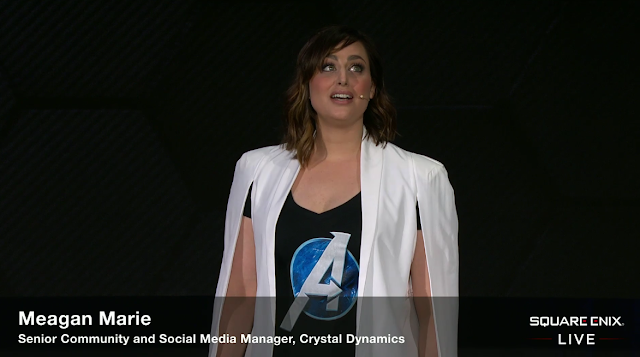 Meagan Marie social media manager Crystal Dynamics Square Enix E3 2019