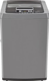 LG 7.0 Kg Inverter Fully-Automatic Top Loading Washing Machine (T8081NEDLJ, Middle Free Silver)