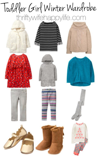Thrifty Wife, Happy Life- #ShineYourWay into the holiday season.  Toddler girl winter wardrobe