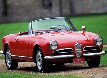 Alfa Romeo Giulietta Spider Model 1955 ,أجمل السيارت, أجمل تصاميم السيارات, أفخم السيارات, أفضل تصاميم السيارات, تصاميم سيارات