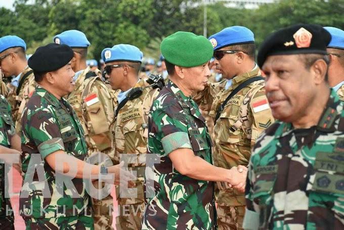 Pangdam I/BB Hadiri Pelepasan Satgas Kompi Zeni TNI Konga XX-Q MONUSCA ke Kongo