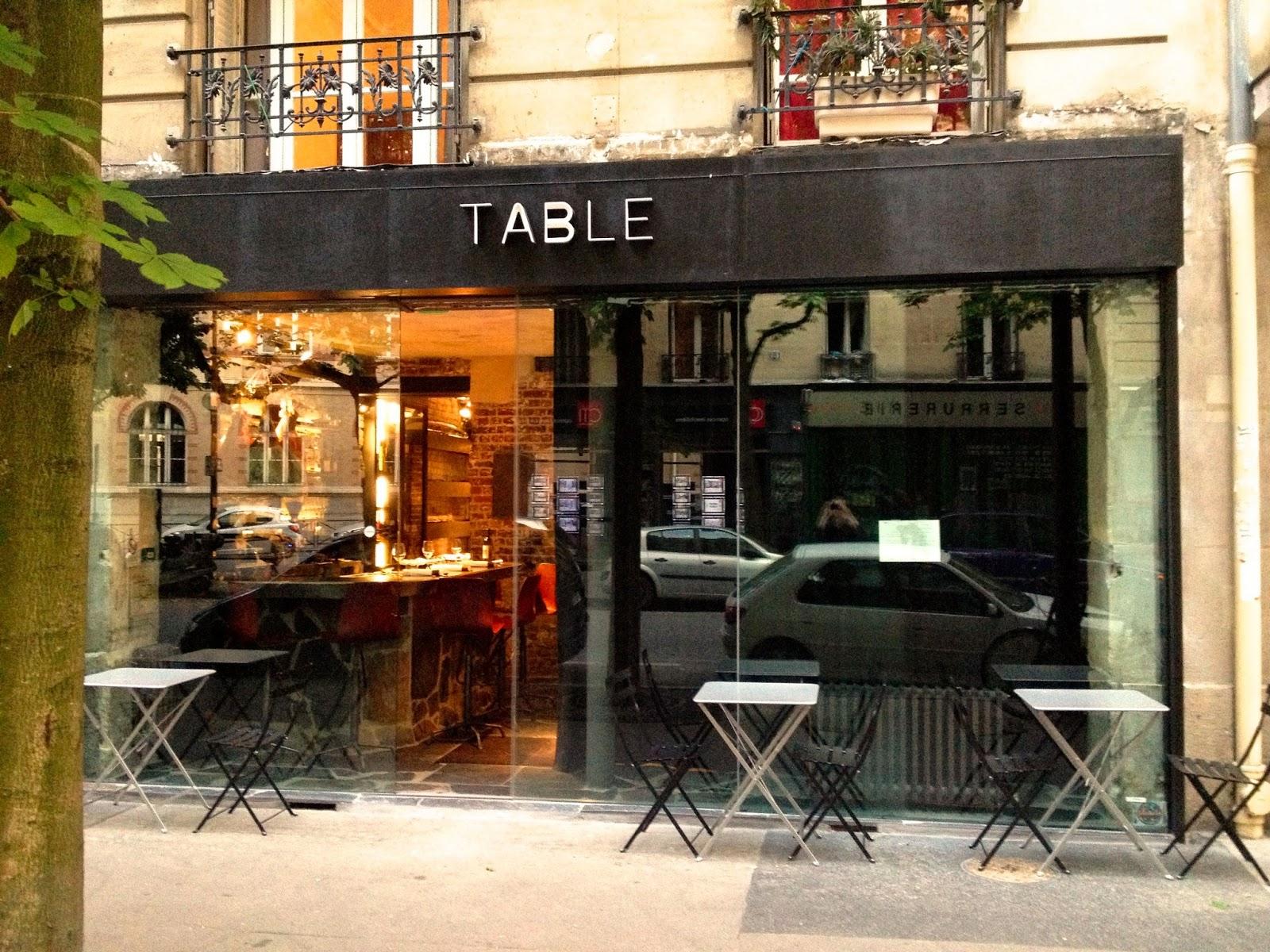 not drinking poison in paris the highest bidder table de bruno verjus 75012. Black Bedroom Furniture Sets. Home Design Ideas