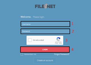 Login File4net account