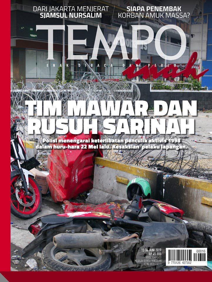 Tim Mawar Menggugat Majalah Tempo