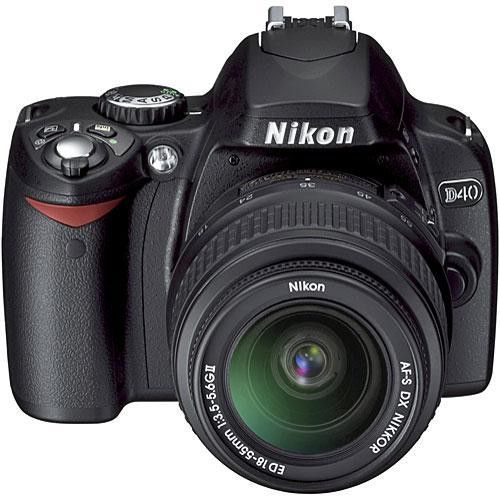 Nikon D40 Digital SLR Camera Kit With 18-55mm.