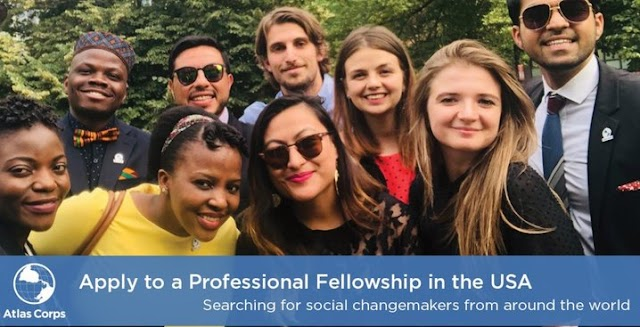 Young Global Leaders Atlas Corps Fellowship Fully Funded To United State 2020