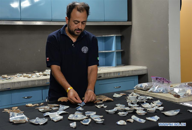 400-year-old Chinese porcelain discovered in Mexico's Acapulco