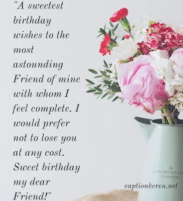 ucapan ulang tahun bahasa inggris untuk sahabat