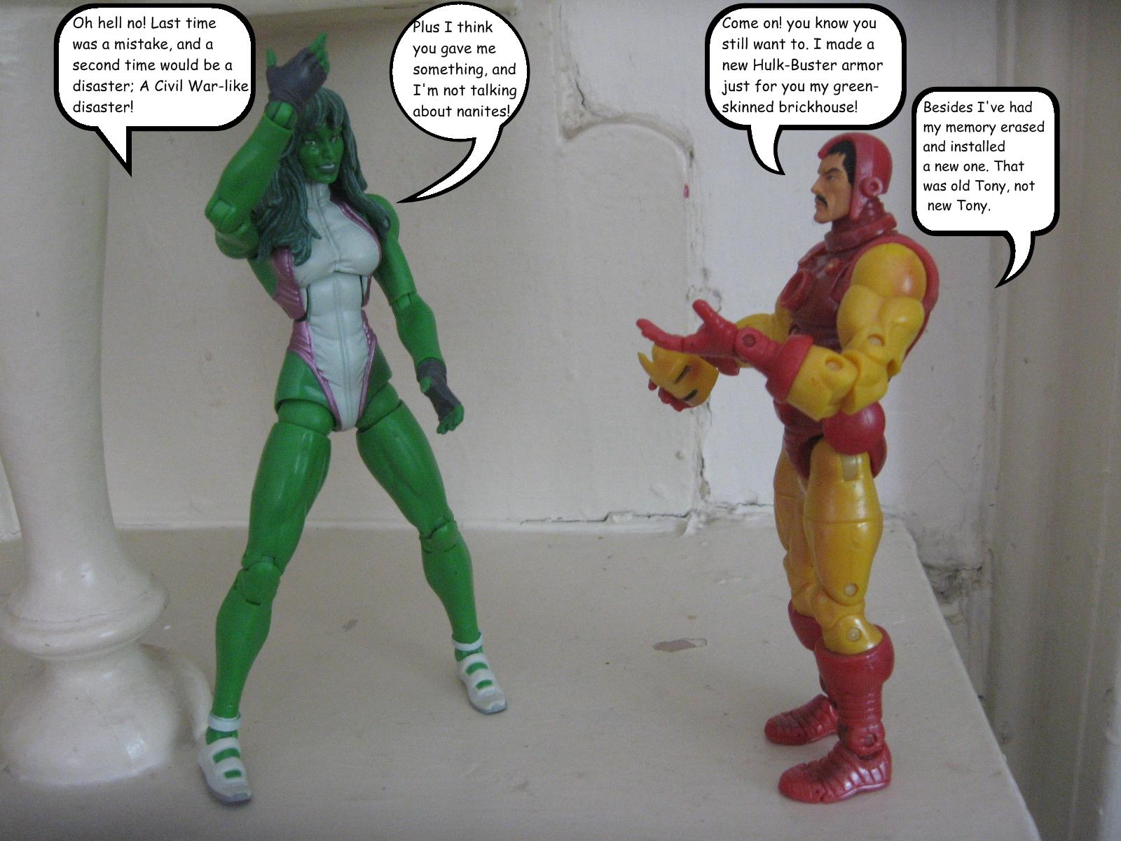She-Hulk - Relationships