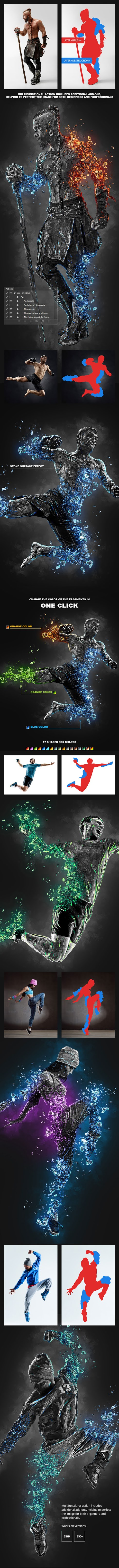 GraphicRiver Obsidian Photoshop Action 26998428 Download