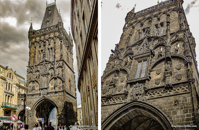 Torre da Pólvora, Praga