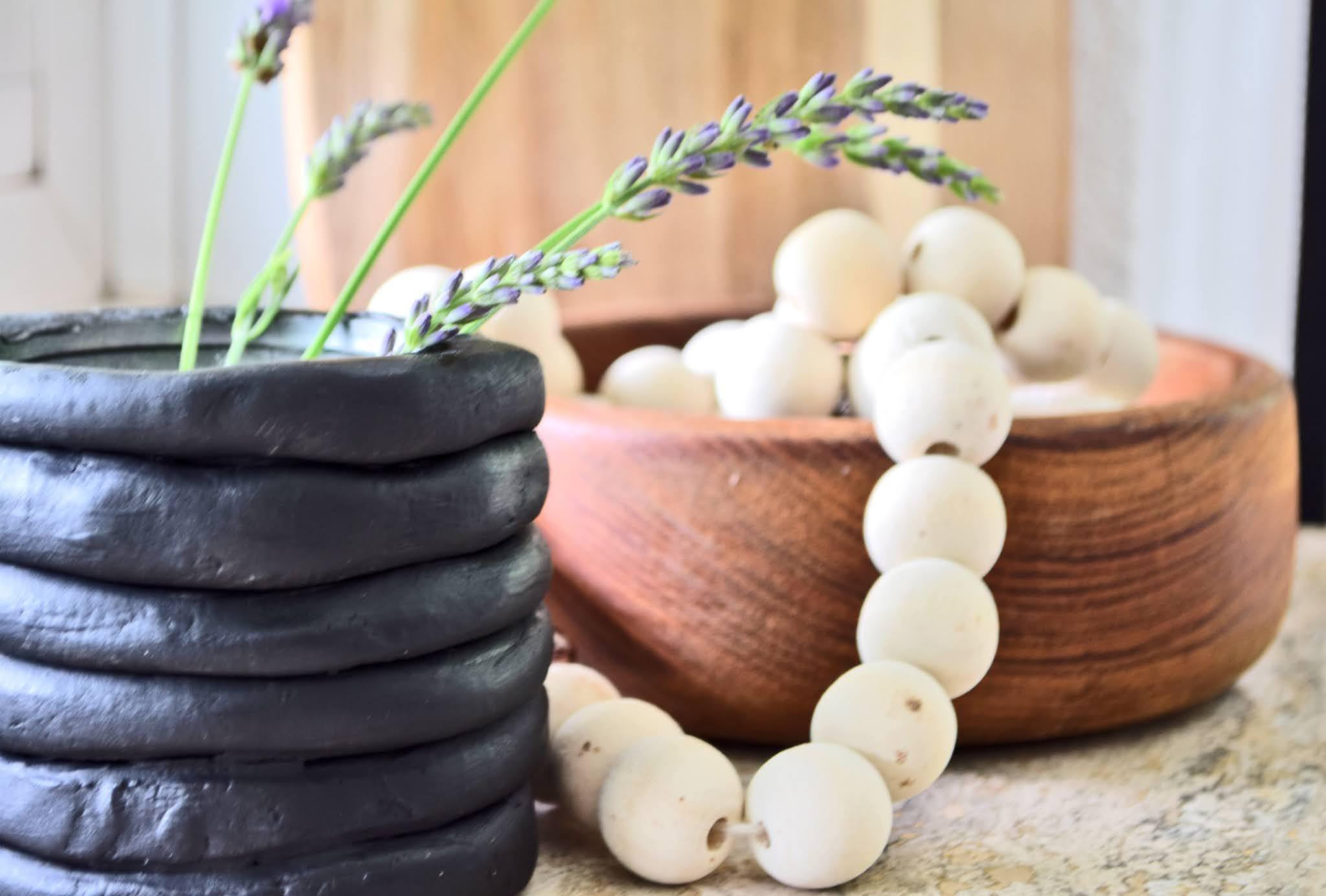 jak zrobić wazon z gliny