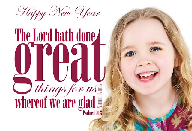 Happy New Year Blessing Words