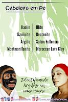 Máscaras com Argila - Como Identificar nas Composição