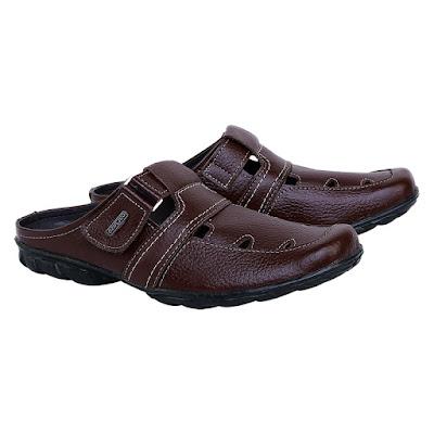 Sandal Bustong Kulit Pria Catenzo RD 412
