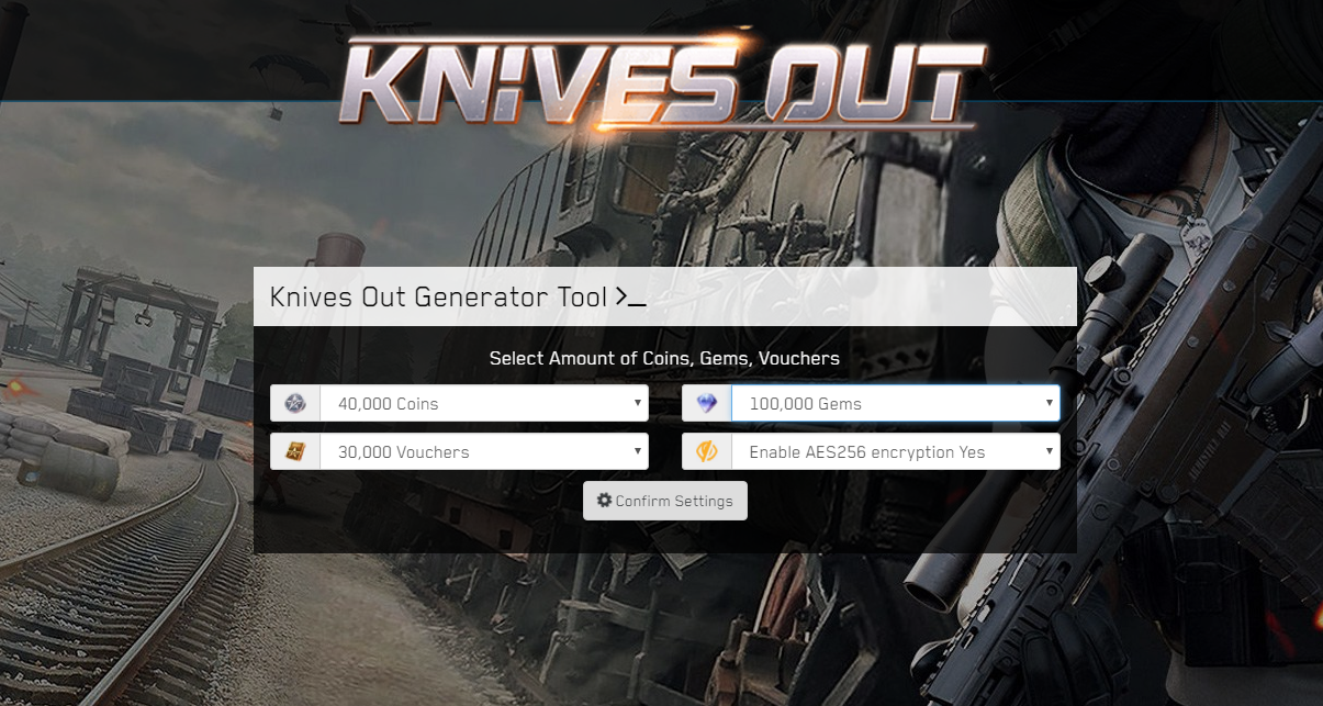 Knives Out Hack Unlimited Coins, Gems, Vouchers Android iOS