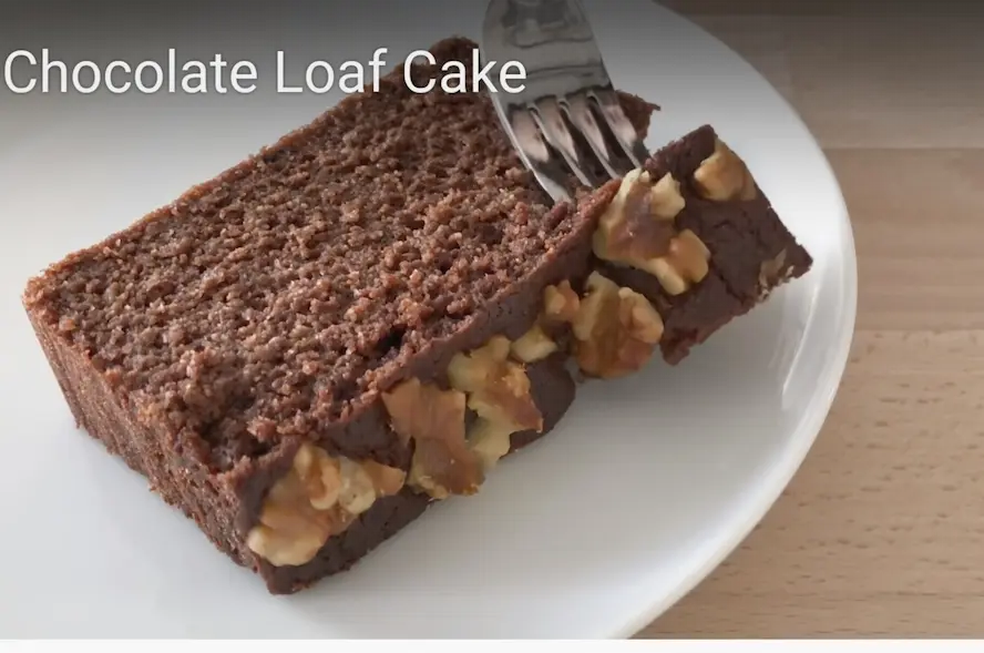 Keto Low Carb Chocolate Loaf Cake