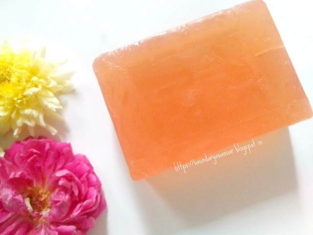 Just Organik Gulab Chandan (Rose-Sandal)- Handmade Soap with essential oils-review
