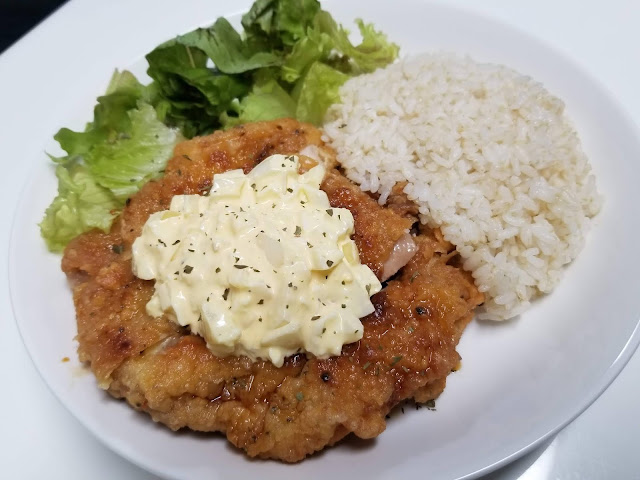 Chicken Nanban w/ Egg Salad