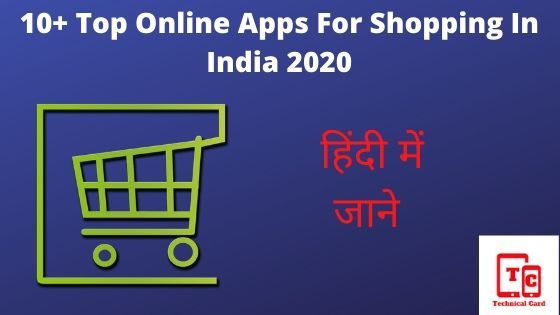 online apps for shopping, best online apps for shopping, online shopping apps for women's, Top Online Apps For Shopping In India 2020