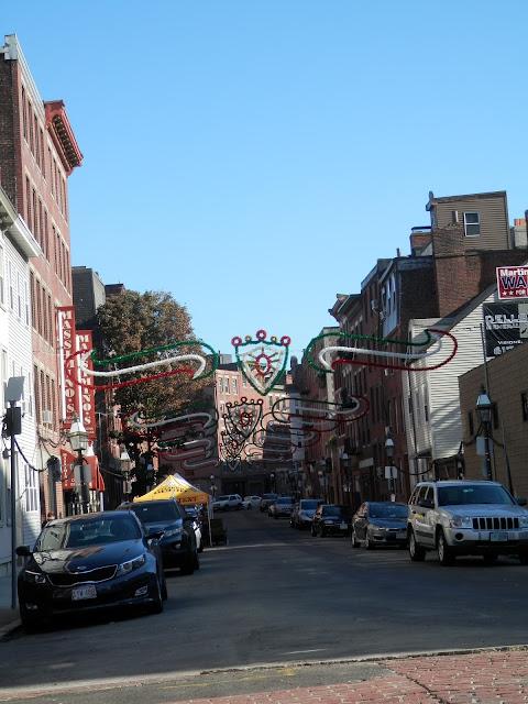 quartier italien Boston