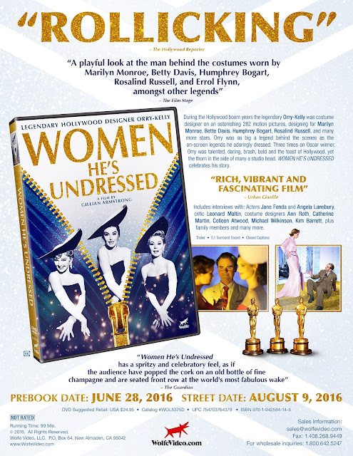 DVD & Blu-ray Release Report, Women He's Undressed, Ralph Tribbey